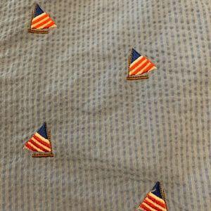 chubbies Shorts - Chubbies Shorts Blue Size 12 Nautical Sailboat